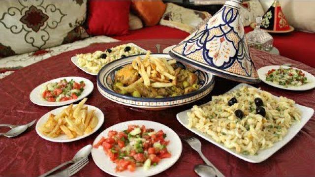 اسهل واسرع مائدة غذاء باطباق لذيذة جدا للضيوف اللي عرفت اخر لحضة بحضورهم للغداء