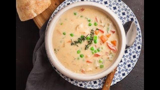 Soupe Crémeuse au Poulet / Cream of Chicken Soup
