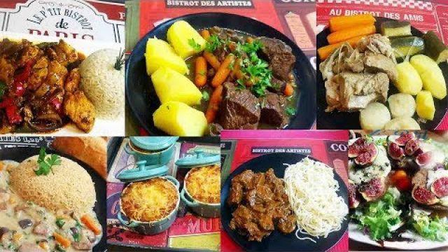 1 semaine de cuisine bistrot rapides et faciles - Recettes Automne