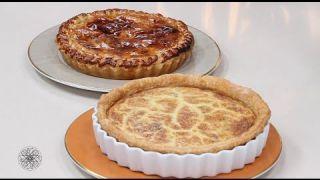 شميشة : فطيرة الباذنجان بالدجاج وطرطة بالجبن