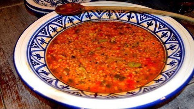 Berkoukes marocain Aux Fèves