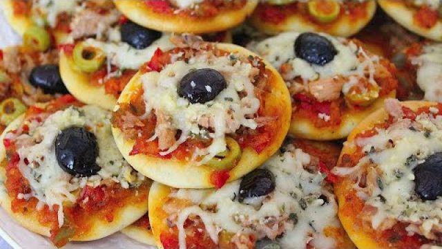 اروع بيتزا فردية *شهيوة رمضانية بامتياز لذيذة جدا بطريقة سهلة وسريعة??
