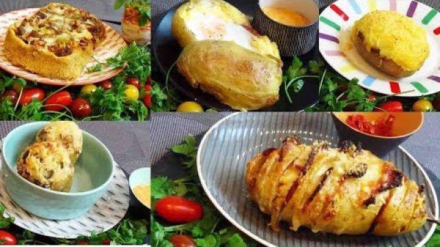5 recettes de pommes de terre farcies