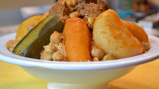 Couscous algérien/algérian couscous/الكسكس الجزائري/mayaencuisine