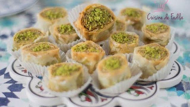 Baklava pistache : fistikli saray sarma