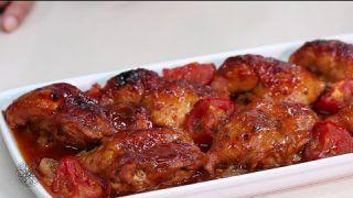 Choumicha : Cuisses de poulet à la sauce barbecue