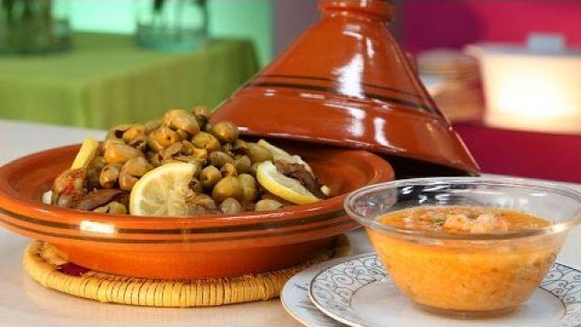 Choumicha : Soupe d'orge (Balboula) - Tajine de foie شميشة : حساء الشعير بالجمبري - طاجين الكبد