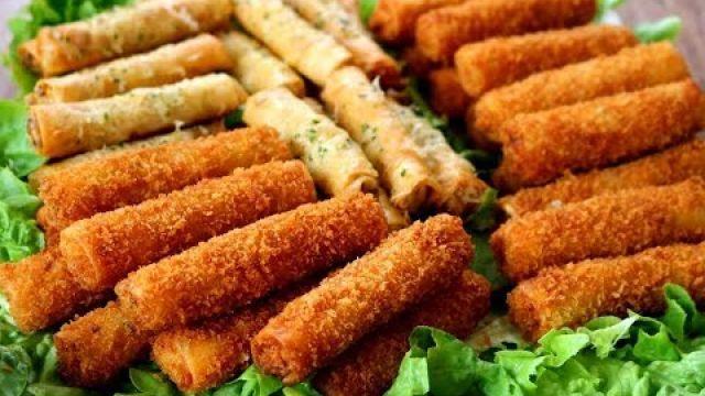 cigare au poulet سيكار دجاج على 2 أشكال لذة و منضر