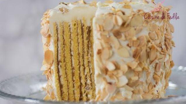 Gâteau Roulé praliné citron