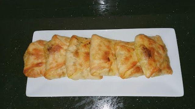 msamen farcis au four/مسمن معمر و مورق في الفرن لذيذ و مقرمش