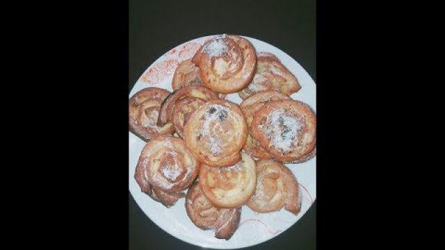 beignet roule aux pommes/ شناك دونارت اوبيني بالتفاح