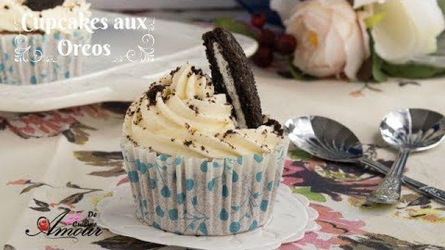 cupcakes aux oreos, super simple facile et délicieux pour le goûter par Soulef Amour de Cuisine