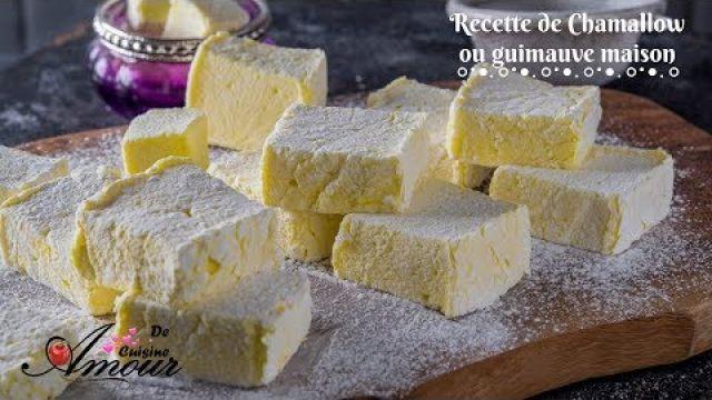 recette de chamallow maison, marshmallow ou guimauve sans oeufs