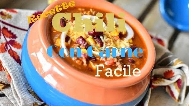 Recette Chili Con carne / chili recipe