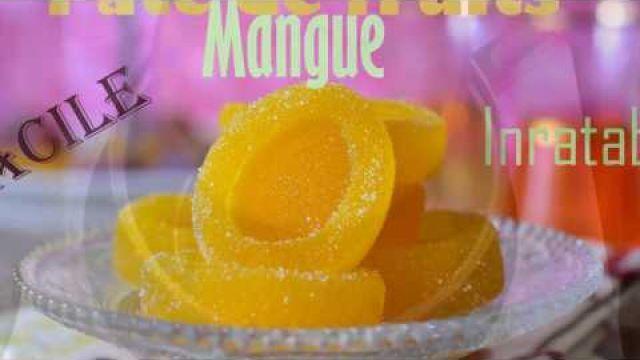 Pâte de fruit à la mangue inratable et facile