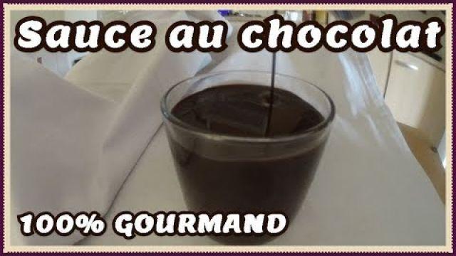 Recette sauce au chocolat (crêpes et gâteaux)